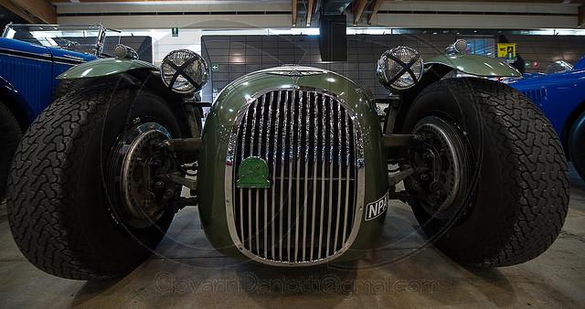 Subasta-Spyder-Zagato Taller mecánico en Vallecas