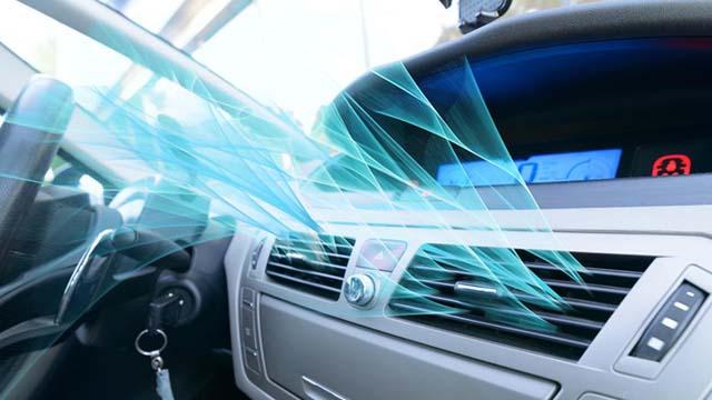 olor del aire acondicionado del coche